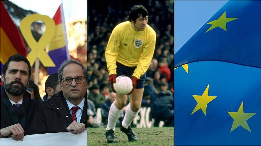 Spain's trial of the century; Gordon Banks dies; and EU flags in French classrooms | Europe briefing