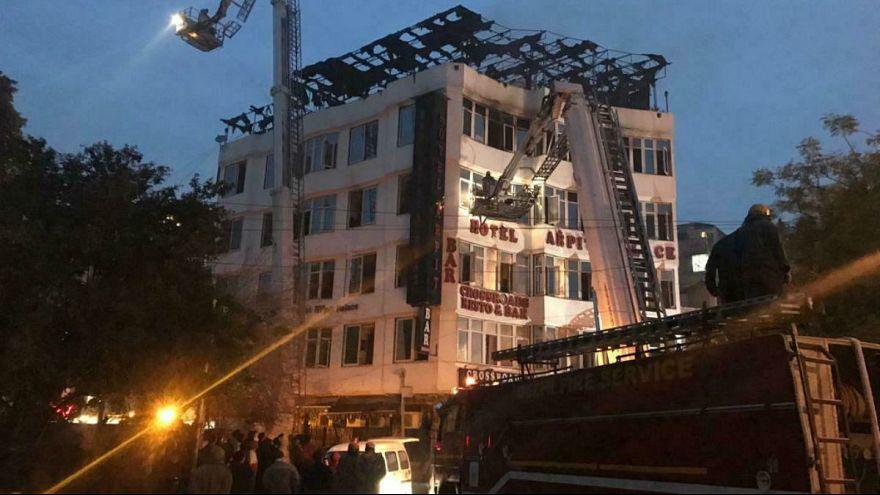 هند؛ دستکم ۱۷ کشته در آتش سوزی در هتلی در دهلی نو