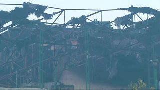 Пожар в Нью-Дели: есть многочисленные жертвы