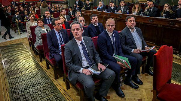 Los líderes del proceso soberanista catalán, en el banquillo