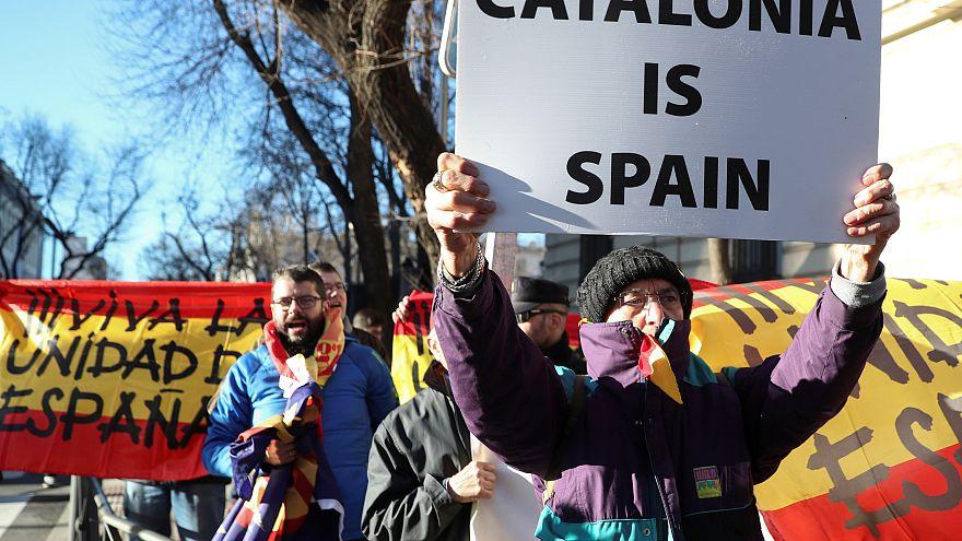 В Мадриде судят каталонских политиков