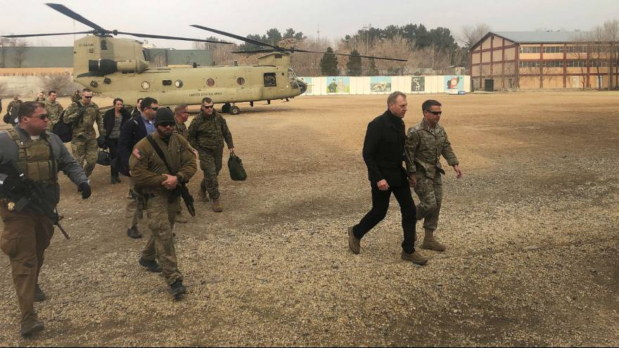 سرپرست وزارت دفاع آمریکا پس از افغانستان به عراق رفت