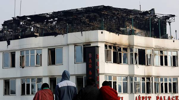 Mindestens 17 Tote bei Feuer in Hotel in Neu Delhi
