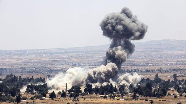 İsrail Suriye sınırındaki Kuneytra kenti