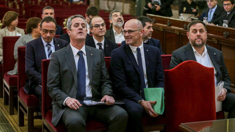 آغاز دادگاه رهبران جداییطلب کاتالونیا و دوپارگی افکار عمومی اسپانیا