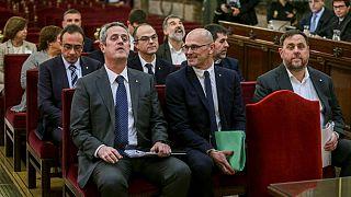 آغاز دادگاه رهبران جداییطلب کاتالونیا و دوپارگی افکار عمومی در اسپانیا