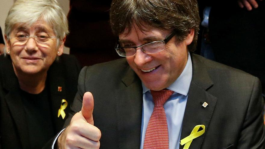 Carles Puigdemont: 'EU is more concerned about Venezuela than Catalan separatists' trial'
