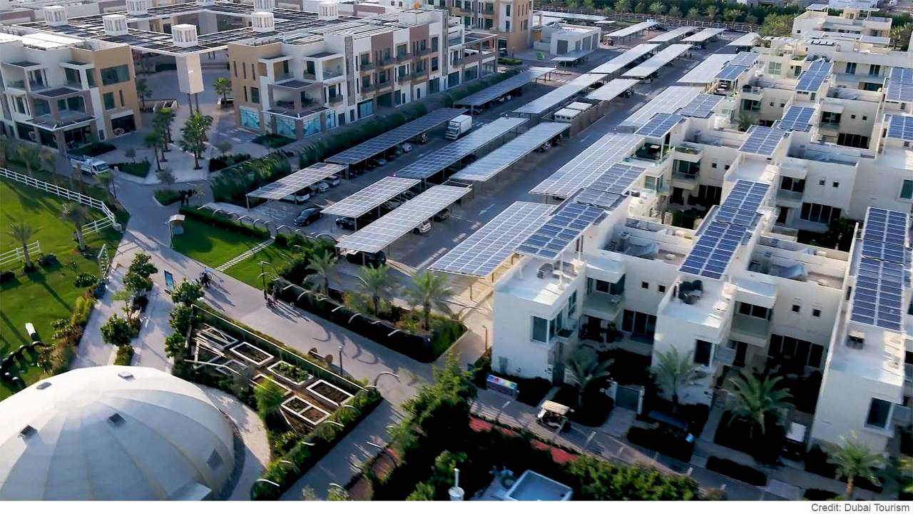 """The Sustainable City"": l'utopia nel deserto di Dubai diventa realtà"