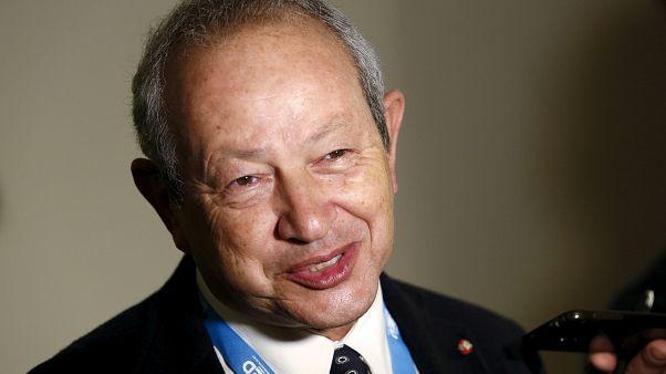 الملياردير المصري نجيب ساويرس