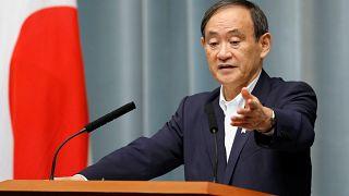 كبير أمناء مجلس الوزراء الياباني يوشيهيدي سوغا