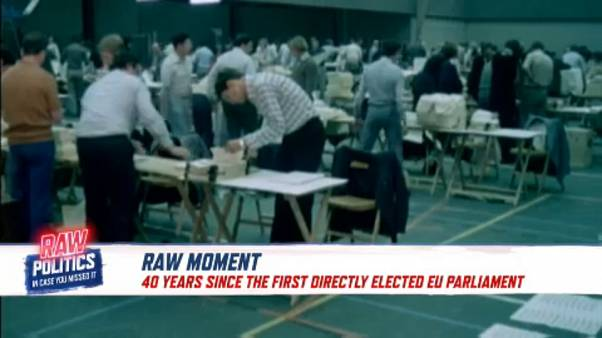 EU marks 40 years of direct elections | Raw Politics
