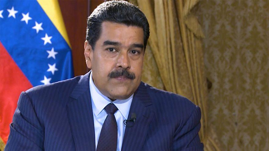 """Maduro a Euronews: """"Il Venezuela non si inginocchierà mai agli USA"""""""