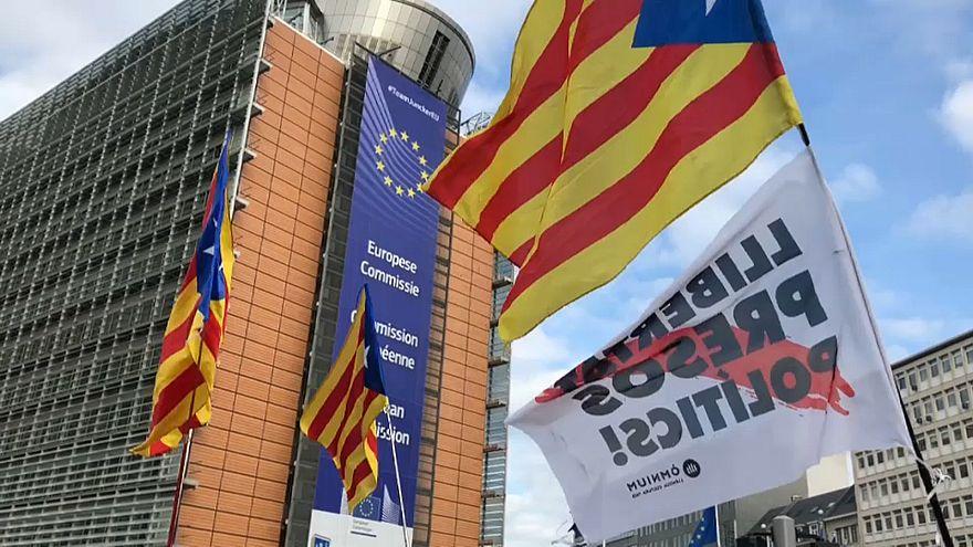 Суд над каталонцами: реакция в Брюсселе