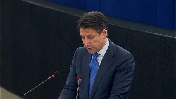 """Conte critica la falta de """"solidaridad"""" europea en materia de inmigración"""