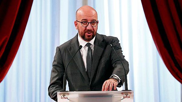 وزير خارجية بلجيكا شارل ميشال