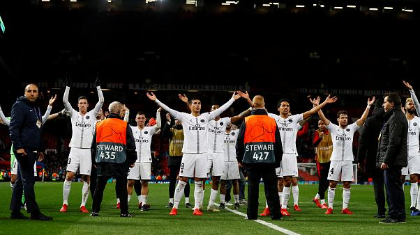 Champions League: Paris gewinnt überraschend 2:0 bei ManU
