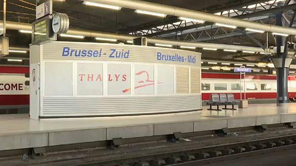 Jornada de greve na Bélgica