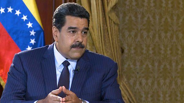 Nicolas Maduro in Euronews interview