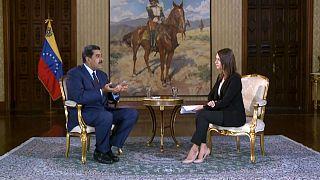 """Le président vénézuélien Maduro dénonce une """"énorme erreur"""" de l'Europe"""