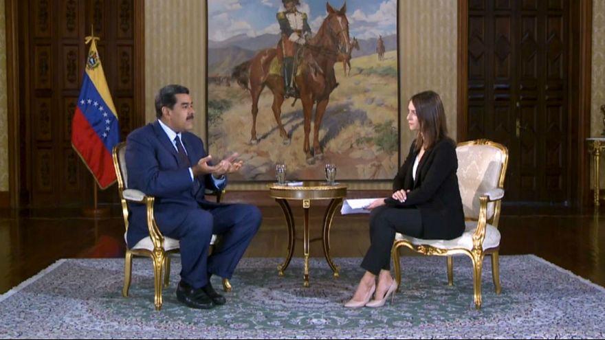 Μαδούρο στο euronews: «Κάνει λάθος η ΕΕ για τη Βενεζουέλα»