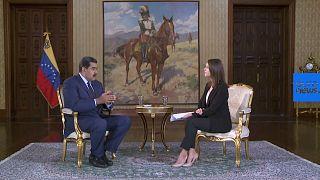ΑΠΟΚΛΕΙΣΤΙΚΟ: Ο Νικολάς Μαδούρο στο euronews