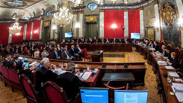"""La acusación toma la palabra en el juicio a los líderes del """"procés"""""""