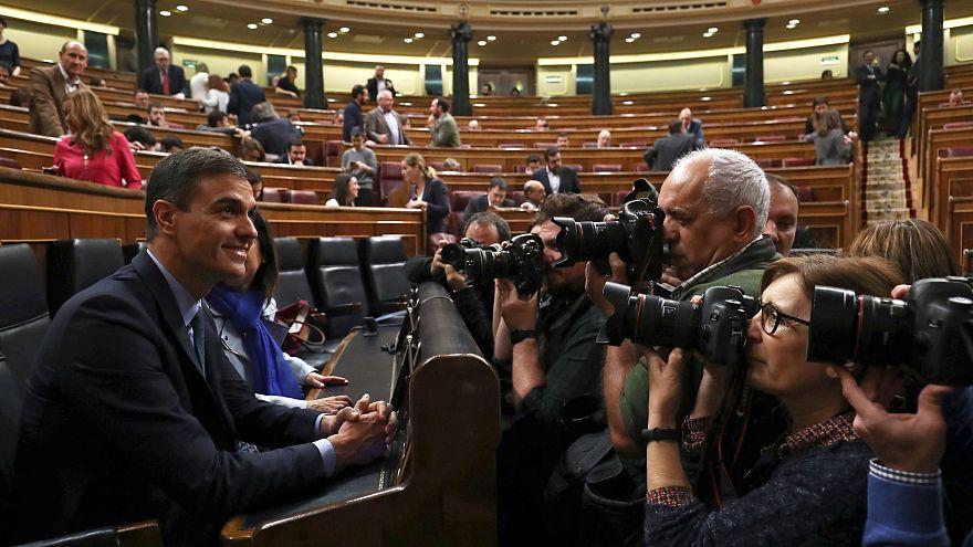 Parlamento Espanhol chumba Orçamento do Estado
