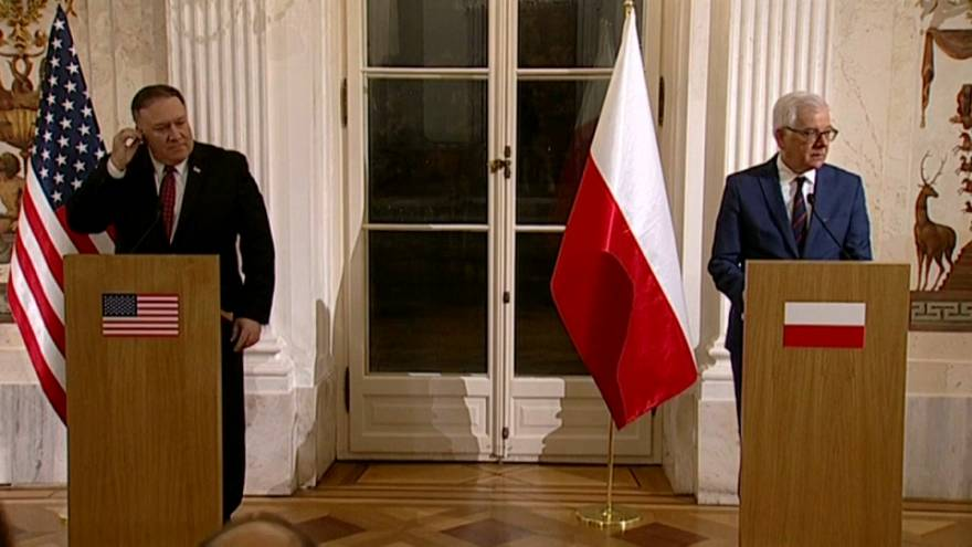Summit on Middle East begins in Poland with poor attendance