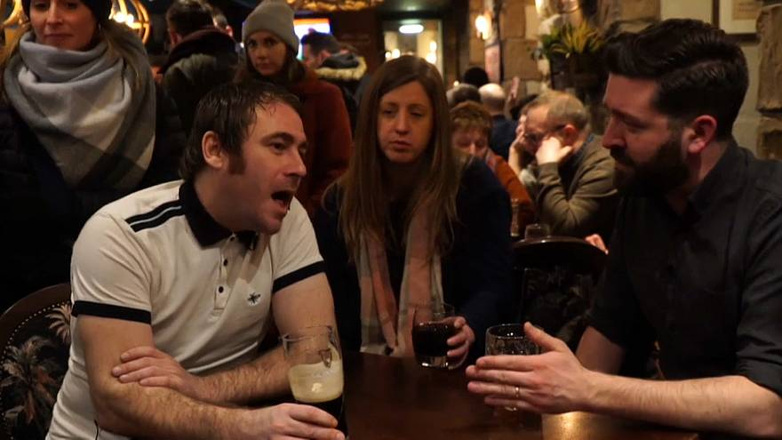Talking Brexit in a Scotland pub