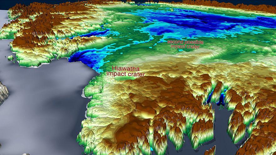 Δεύτερος τεράστιος κρατήρας πρόσκρουσης κάτω από τους πάγους της Γροιλανδίας