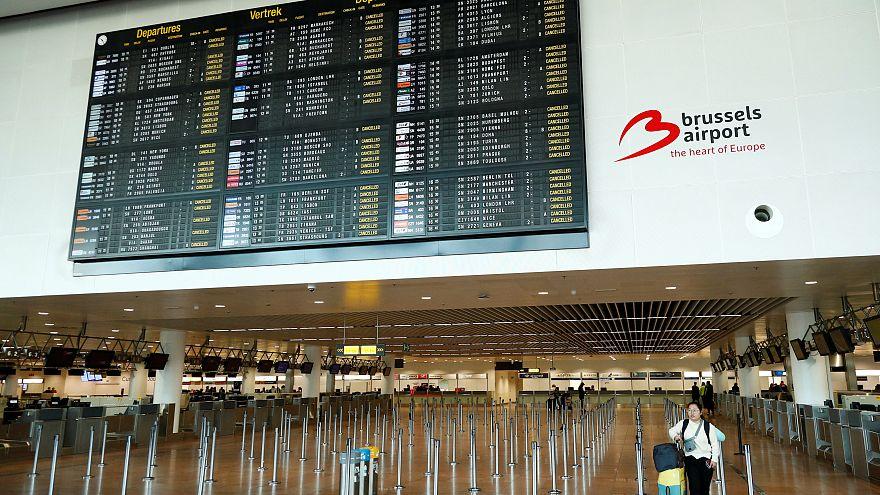 Grève à l'aéroport de Bruxelles