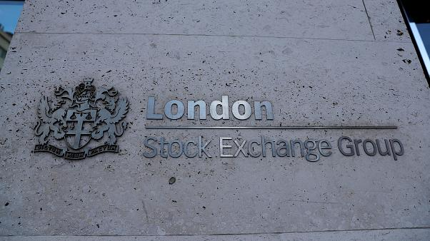 The London Stock Exchange in London