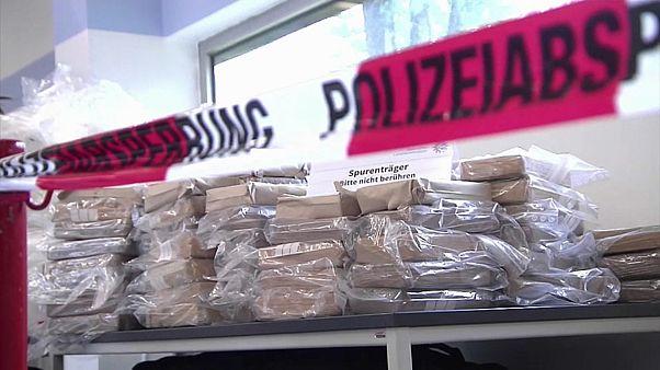 Großer Kokain-Prozess: Acht Männer stehen vor Gericht