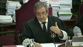 Ügyészi beszédek a katalán szeparatisták perében
