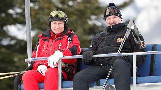 Путин и Лукашенко на лыжне постсоветской интеграции