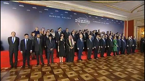 A Varsovie, une conférence controversée sur le Moyen-Orient