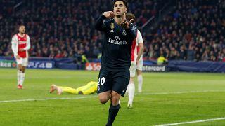 Champions: Asensio salva il Real, il Tottenham piega il Borussia