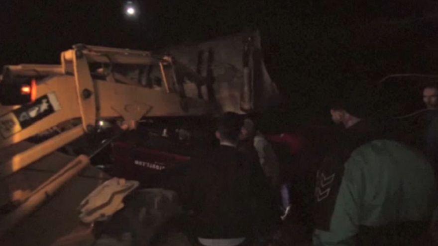 Στους 14 οι νεκροί από ανατροπή λεωφορείου στα Σκόπια
