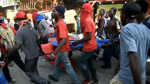 Haiti: Der Hunger treibt sie auf die Straße