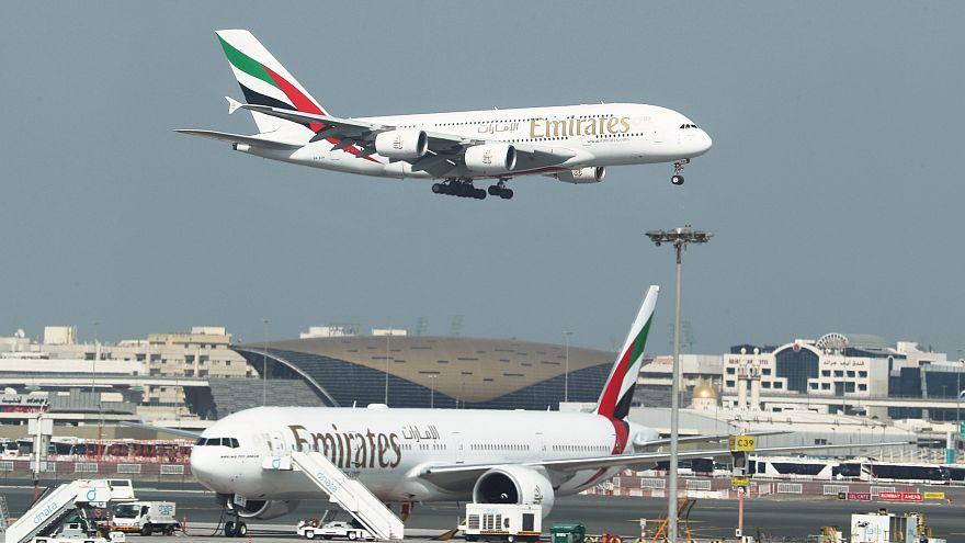 إيه 380 التابعة لشركة الخطوط الإماراتية