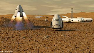 ایستگاه فضایی در مریخ