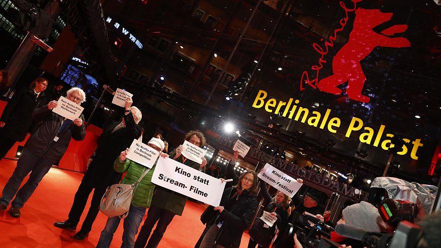 Ιδιοκτήτες κινηματογράφων διαμαρτύρονται στο Φεστιβάλ Βερολίνου