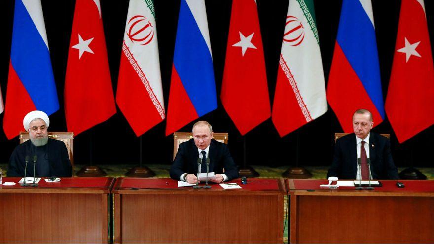 روسای جمهوری ایران، ترکیه و روسیه