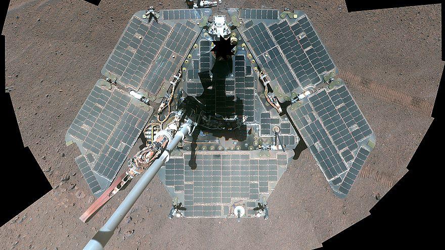 """بعد 15 عاما المركبة """"أبورتيونتي"""" تتوقف عن الخدمة وناسا تودعها على سطح المريخ"""
