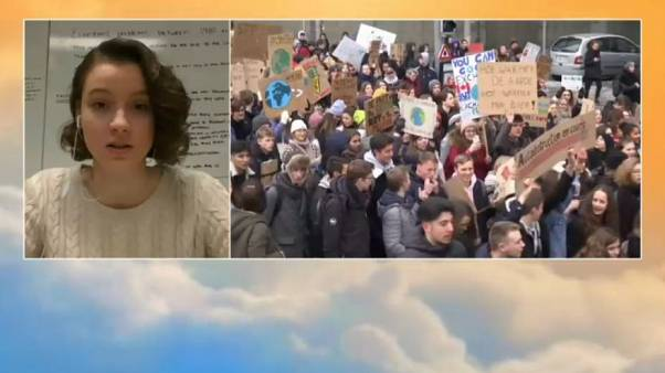 Belgium Student Climate Change Protests - Act VI