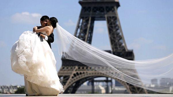 ¿En qué país europeo se contrae más matrimonio?