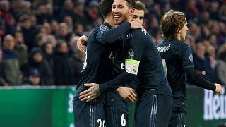 Victorias del Real Madrid y Totthenham en Liga de Campeones
