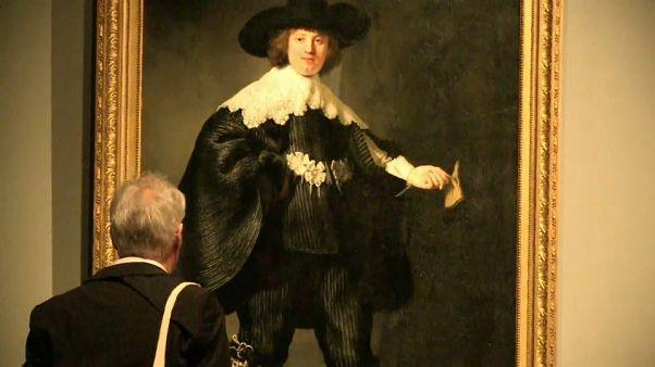 Le Rijksmuseum expose l'oeuvre de Rembrandt pour les 350 ans de sa disparition