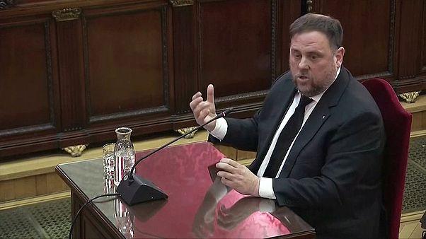"""Junqueras non risponde all'accusa: """"È giudizio politico"""""""