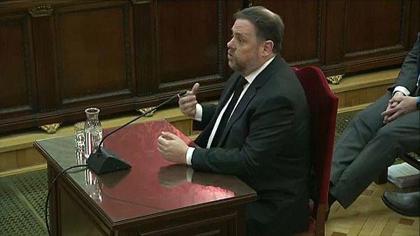 Catalogne : l'ancien vice-président dénonce un procès politique
